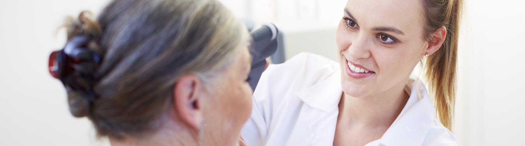 Job beim Augenarzt in Bassum oder Weyhe
